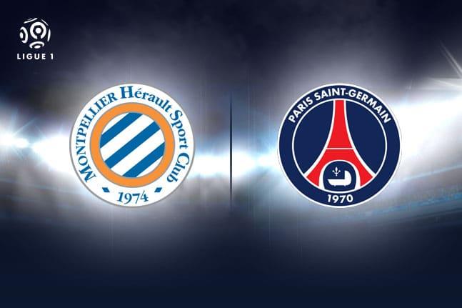 Montpellier - PSG en direct