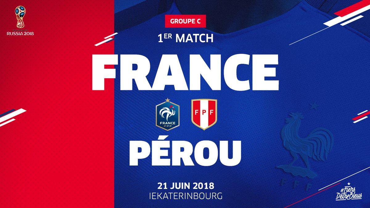 Pronostic France - Pérou